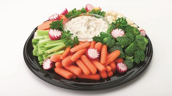 Picture of Fresh Cut Veggie Tray LG
